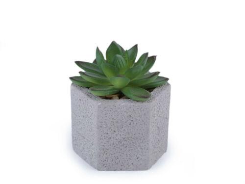Artificielle Plante grasse//CACTUS dans un betontopf plante fleur art plante