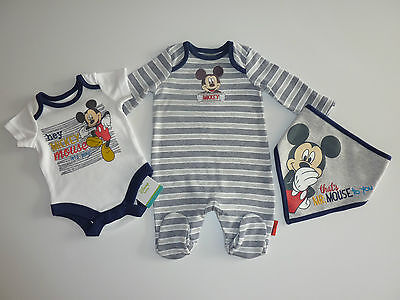 "DISNEY Really Cute /""HAPPY Little MICKEY MOUSE/"" 3 Piece Set NWT"