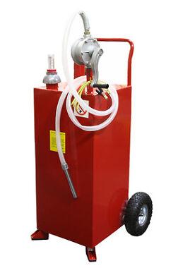 30 Gallon Gas Caddy Tank Gasoline Fluid Diesel