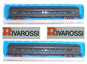 RIVAROSSI-9564-and-Look-COACH-CAR-SANTA-Fe-OVP-LADDER-N