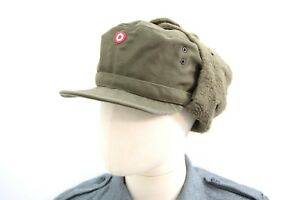 ead40c71543ad3 Image is loading Austrian-Army-Issue-Winter-Hat-Cold-Weather-Ushanka-