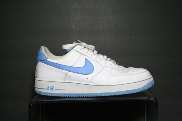 Nike Air Force 1 02' VTG UNC Sneaker Carolina Athletic Hip Multi Men