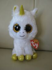 item 1 TY BEANIE BOO S - PEGASUS THE WHITE UNICORN CHILD S SOFT PLUSH  COLLECTABLE TOY -TY BEANIE BOO S - PEGASUS THE WHITE UNICORN CHILD S SOFT  PLUSH ... d69b6b8d72f5