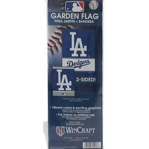 LA-Los-Angeles-Dodgers-Garden-Flag-12-5-034-x-18-034-Yard-Lawn-Decor-Outdoor-Indoor