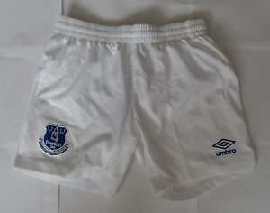 EVERTON-2014-15-HOME-SHORTS-BY-UMBRO-SIZE-MEN-039-S-XL-BRAND-NEW-WITH-TAGS