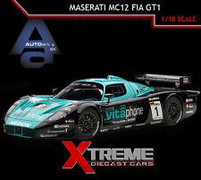 AUTOART 81035 1:18 MASERATI MC12 FIA GT1 2010 WINNER M.BARTELS/A.BERTOLINI