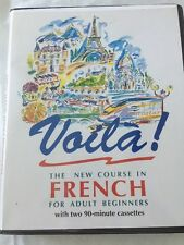 Voila A Course in French for Adult Beginners Audio Tapes Learn To Speak Barron's