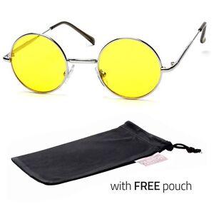 2441f7e1f19 John Lennon Vintage Retro Classic Circle Round Sunglasses Men Women Color q  Sunglasses   Sunglasses Accessories