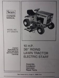 craftsman log splitter user manual
