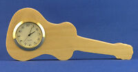 Guitar Mini Clock - Hand Cut W/ Choice Of Insert