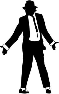 image is loading michael jackson silhouette car decal window sticker mj001