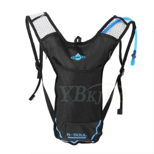 2L Hydration Water Bladder Bag SD B-SOUL Running Cycling Vest Backpack Camping