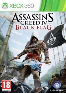 ASSASSIN-039-S-CREED-IV-BLACK-Flag-Xbox-360-1st-Class-consegna