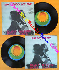 LP 45 7'' DIANA ROSS & MARVIN GAYE Don't know my love Just say 1974 no cd mc dvd