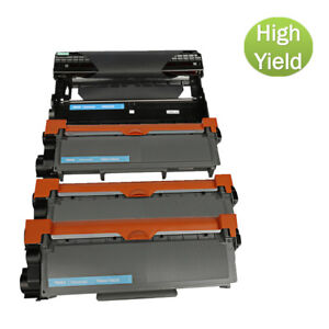 Lot DR630 Drum and TN660 Toner For Brother MFC-L2720DW MFC-L2740DW DCP-L2520DW