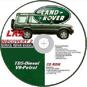 landrover defender 1999 2002 service manual fix engine look