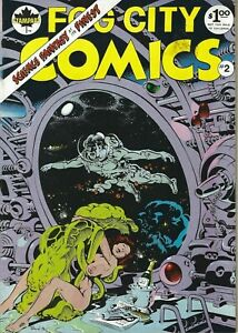 RAND-HOLMES-GEORGE-METZGER-FOG-CITY-COMICS-2-1978-SCIENCE-FANTASY-AT-ITS-FINEST