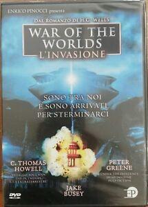 War-Of-The-Worlds-L-039-Invasione-DVD-Nuovo-sigillato-EP-Enrico-Pinocci