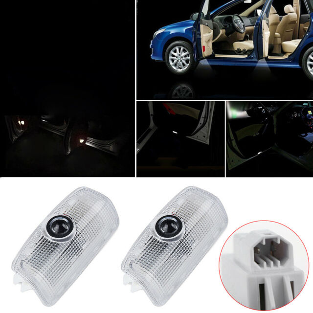 2X LED Door Step Courtesy Light Lamp Shadow Projector For Infiniti 07-15
