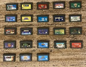 GameBoy Advance (GBA) Games Lot