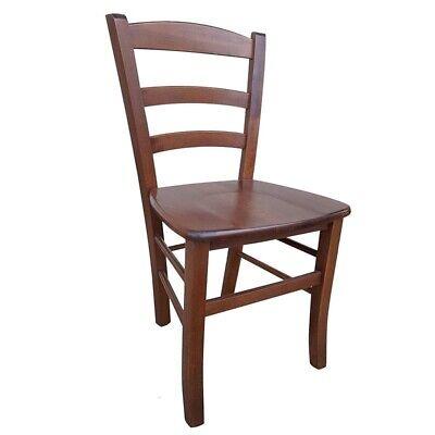 Sedia sedie rustica paesana seduta legno noce cucina casa ...