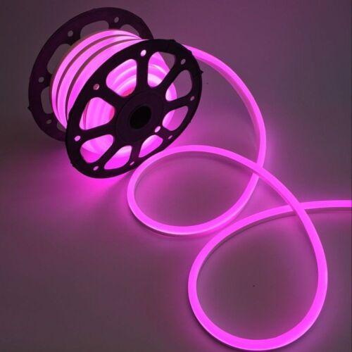 1-5m Waterproof Flexible LED Neon Rope Light Strip In//Outdoor Home Party Decor