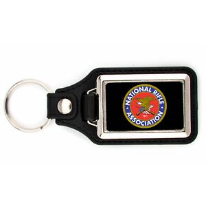 Nra Keychain National Rifle Association Logo With Black Background Key Chain Ebay
