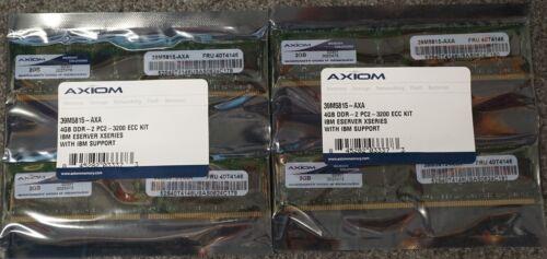 IBM OEM AXIOM SERVER MEMORY 16GB 39M5815-AXA DDR-2 PC2-3200 ECC KIT 8x 2GB Z-PRO