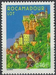 Stamps Architecture Timbre France Neuf N° 3492 ** Rocamadour Good Taste Stamp