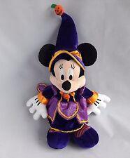 Mickey Mouse Purple Halloween Soft Toy Plush Stuffed Animal by Disney Paris