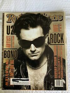 Rolling stones issue 651 March 4, 1993 featuring U2 Bono