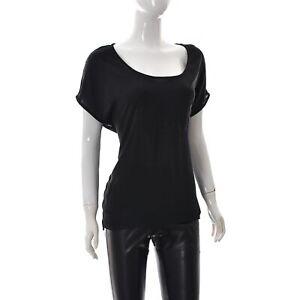 Piecee-Donna-Pskamma-T-Shirt-Girocollo-a-Pipistrello-Manica-Corta-Grande-L