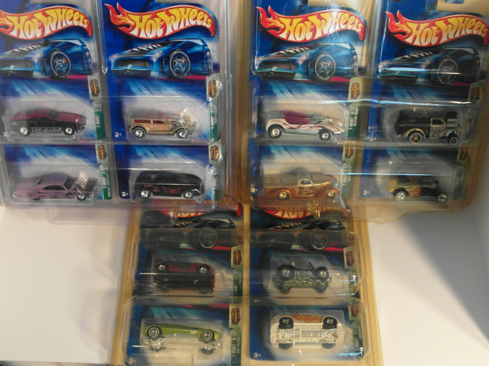2004 Hotwheels HW TREASURE HUNT TH Set Lot of 12