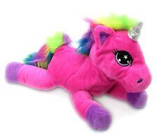 Snuggle Pals Plush Rainbow Unicorn Soft Toy ~ Pink