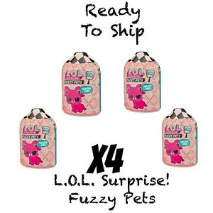 L-O-l-Surprise-Fuzzy-Pets-With-Washable-Fuzz-amp-Water-Surprises-4-LOL-New-MGA