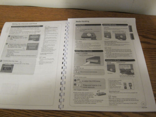 Sony RDR-GX355 operating instructions user manual