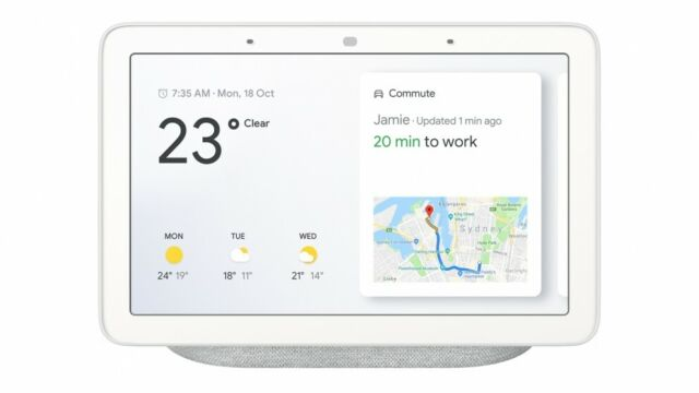 Brand New Google Home Nest Hub Smart Display & Home Assistant GA00516 Au Stock]