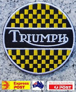 Triumph-Motorcycle-Vest-Embroidered-Patches-Badge-Iron-Sew-On
