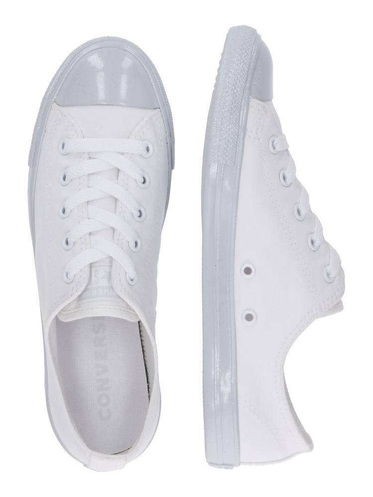Converse Chuck Taylor All Star Dainty Gloss Glitter Women White shoes 563475c
