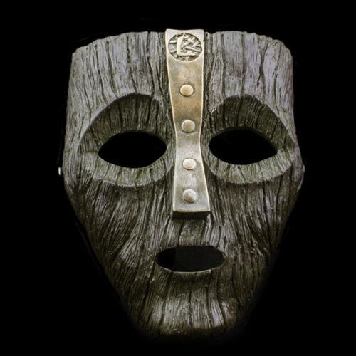 Resin Loki Mask Deluxe Jim Carrey The Mask Halloween Fancy Dress Costume 2 Color