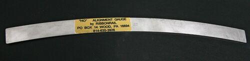 "HO 10/"" Track Alignment Gauges Curved 22/"" Radius Ribbonrail"