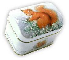 Scatola Scoiattolo 100 g Baule 10,5 x 7,8 x 6 cm scatola porta tè