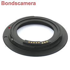Advanced EMF AF confirm M42 lens to Canon EOS EF adapter 5D II 6D 7D 70D Black