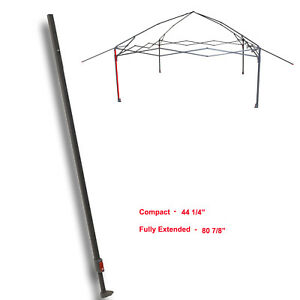 Details about Coleman 13 x 13 Eaved Shelter Canopy Costco EXTENDED  ADJUSTABLE LEG Parts