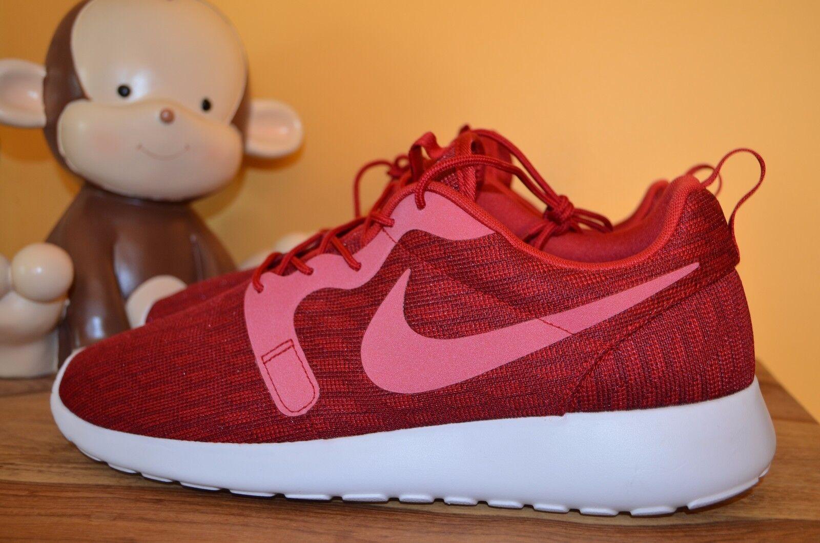 b82f489503bd NEW NIKE ROSHE ONE KJCRD Running shoes MENS SZ 13 Gym Red Black 777429-