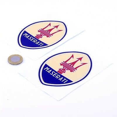 Mercedes Benz Sticker Decal Car Vinyl 75mm x2 Classic Red Mercedes Badge