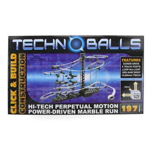 Hi-tech Power Driven Marble Run Techno Balls 197 Pieces