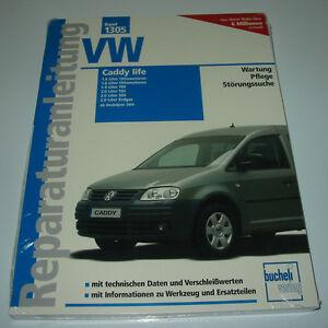 Haben Sie Einen Fragenden Verstand Reparaturanleitung Vw Caddy Life Typ 2k Benziner Tdi Sdi Erdgas Ab 2004 Neu! Automobilia