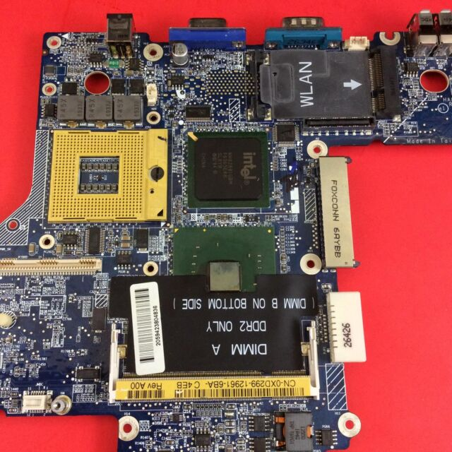 XD299 Dell Latitude D620 Motherboard