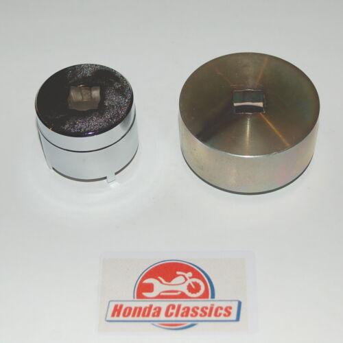Honda Front /& Rear Wheel Bearing Retainer Tool Set for CB450 DOHC Twins HWT058